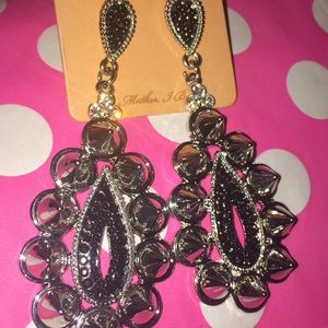 Jewelry - Spiked Glam Earrings